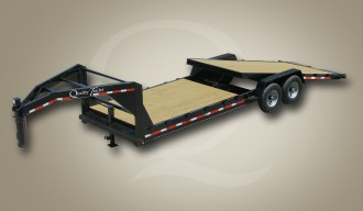 Equipment Gooseneck Tilt Trailer