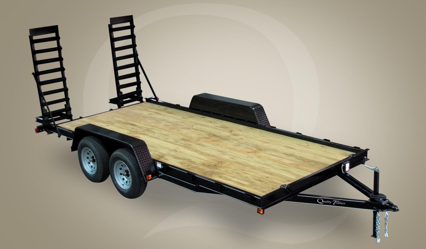 Equipment Trailer Economy Series 8000 Gvwr