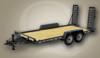 Pro Skid Steer Wood Floor Trailer
