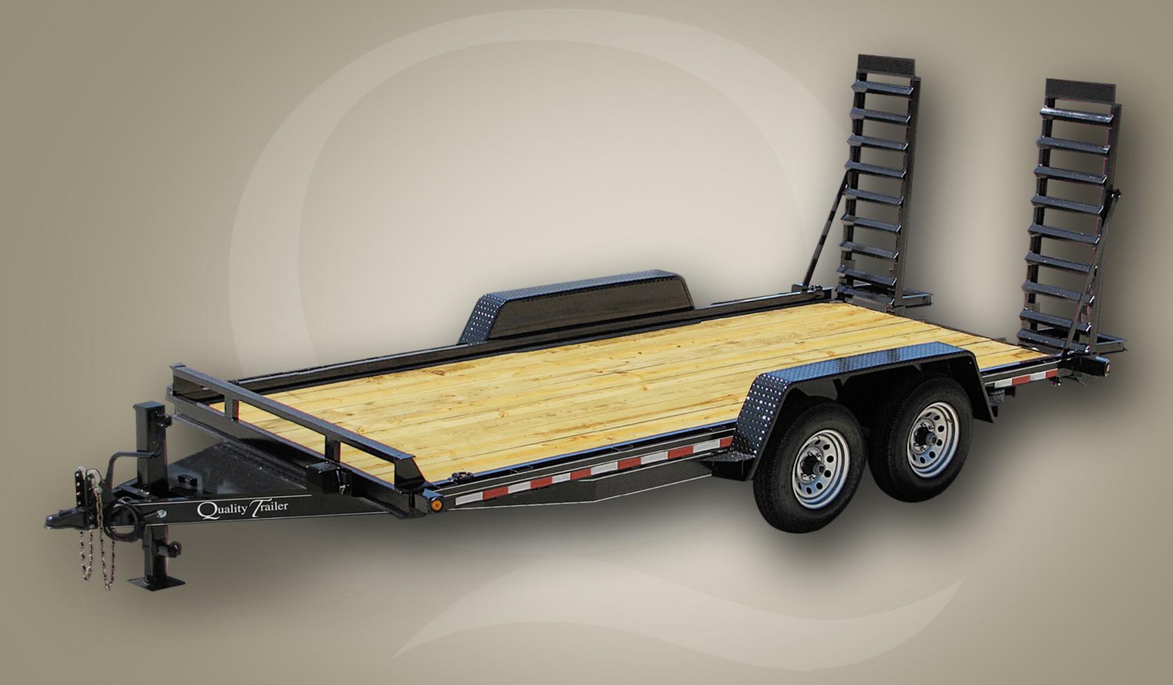 Bobcat Trailer Fenders : Skid steer professional grade gvw quality trailers